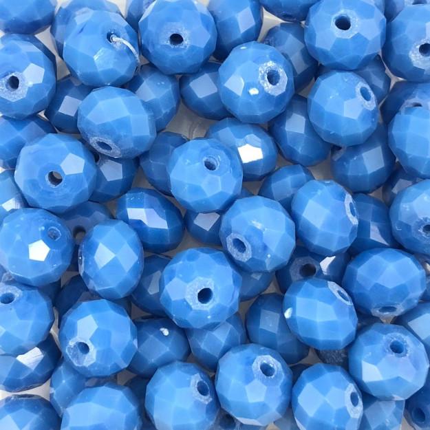 CRT427 - Cristal Azul Ceruleo 8mm - 72Unids