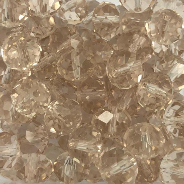 CRT428 - Cristal Blond Flare 10mm - 72Unids