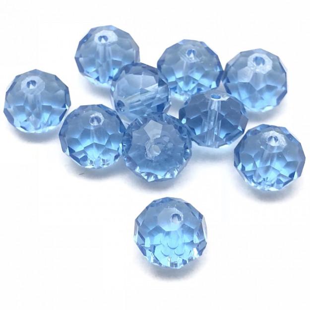 CRT467 - Cristal no Fio Capri Blue 10mm - 72Unid