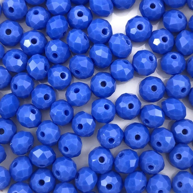 CRT492 - Cristal Azul Cobalto 6mm - 100Unids