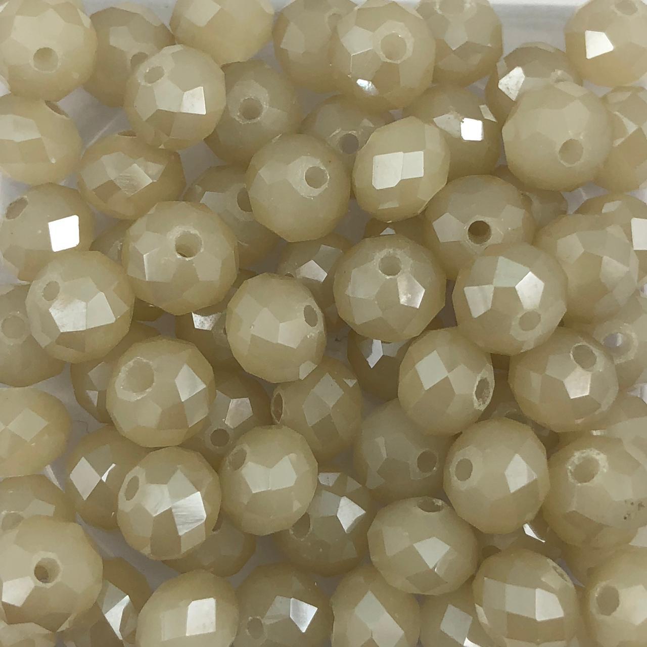 CRT518 - Cristal Areia Irizado 8mm - 72Unids