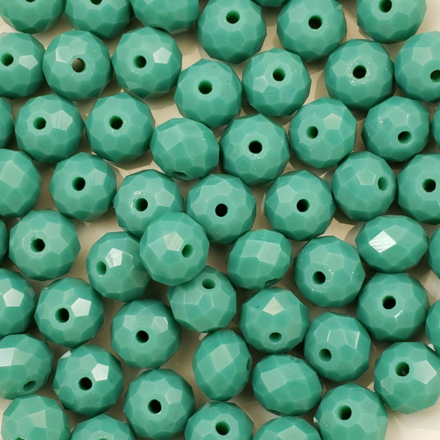 CRT604 - Cristal Verde Turquesa 8mm - 65Unids