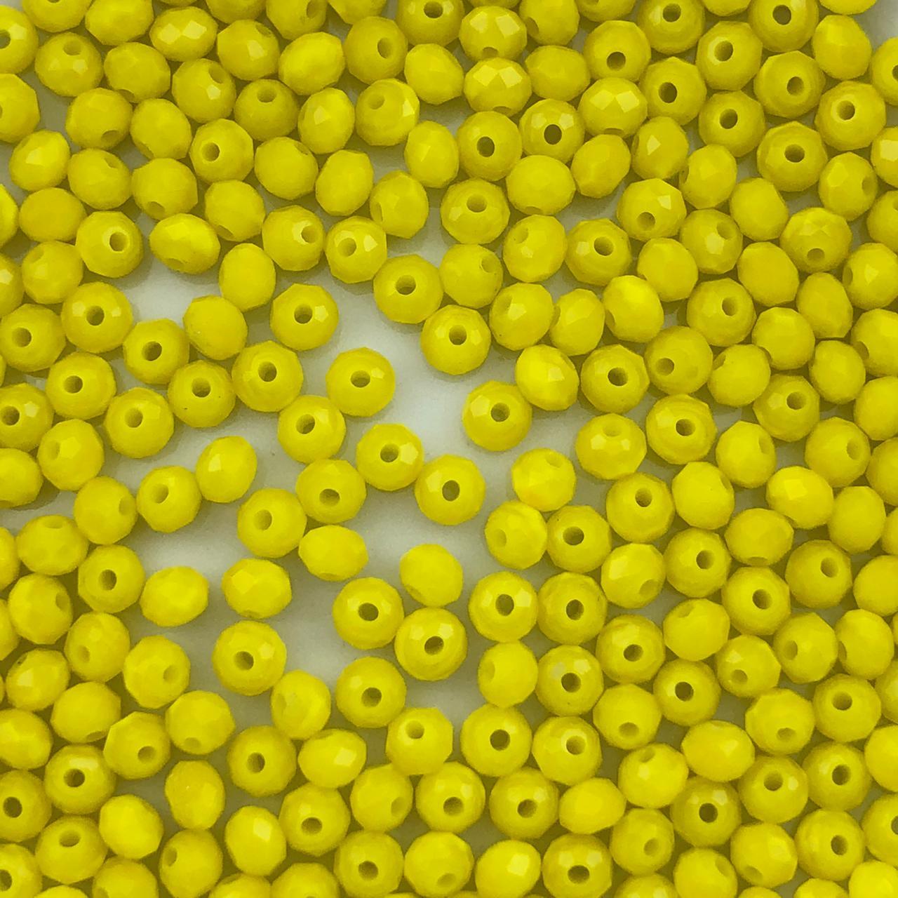 CRT621 - Cristal Amarelo 3mm - 140Unids