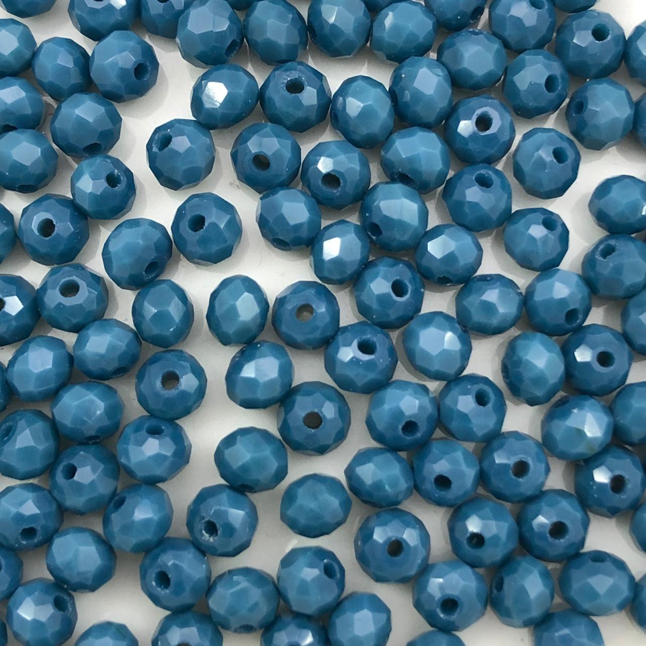 CRT65 - Cristal Azul Petróleo 4mm - 150Unids
