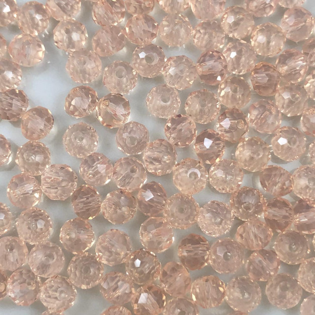 CRT67 - Cristal Light Rose 4mm - 150Unids