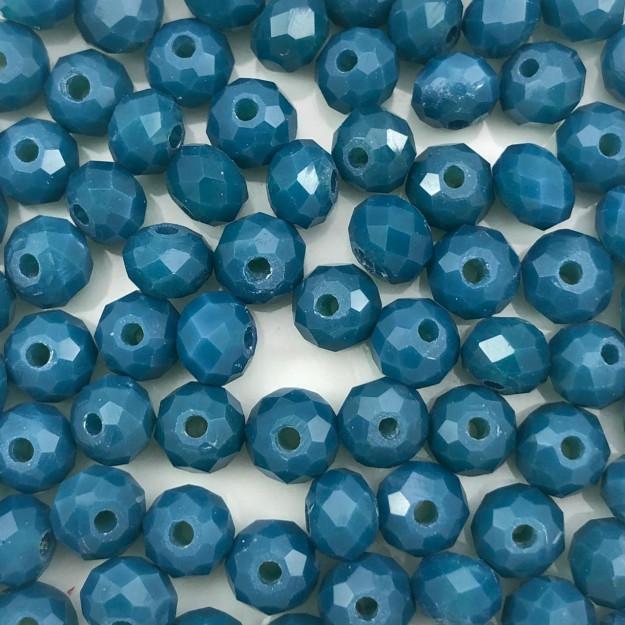 CRT81 - Cristal Azul Petróleo 6mm - 100Unids