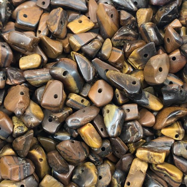 CS06 - Cascalho Pedra Olho de Tigre - 30Grs