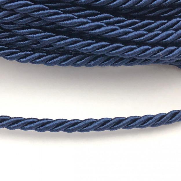 CSF015 - Cordão de São Francisco 3.5mm Azul Marinho - 1metro
