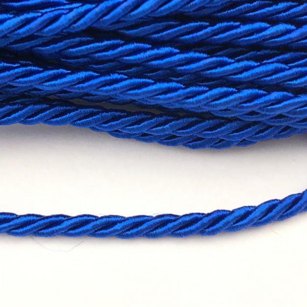 CSF023 - Cordão de São Francisco 3.5mm Azul Royal - 1metro