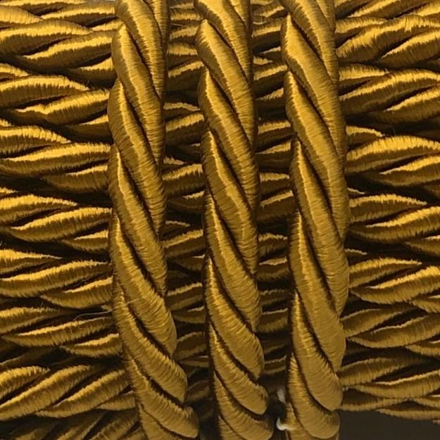 CSF10 - Cordão de São Francisco 5mm Ouro Velho - 1metro