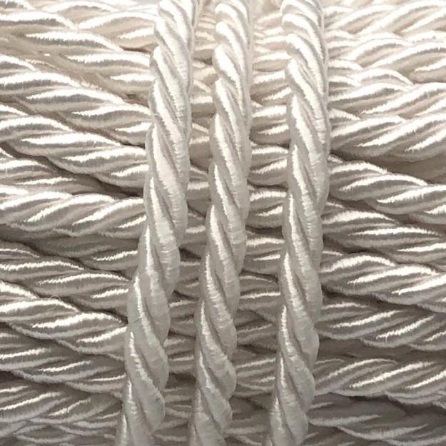 CSF16 - Cordão de São Francisco 3.5mm Branco - 1metro