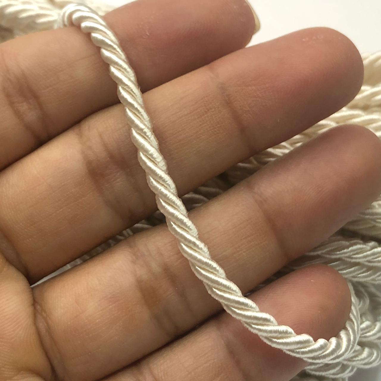 CSF24 - Cordão de São Francisco 3.5mm Cru - 1metro