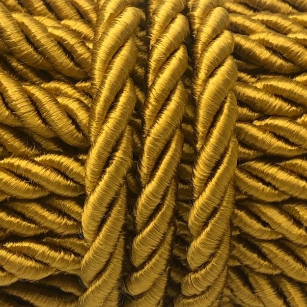 CSF37 - Cordão de São Francisco 7mm Ouro Velho - 1metro