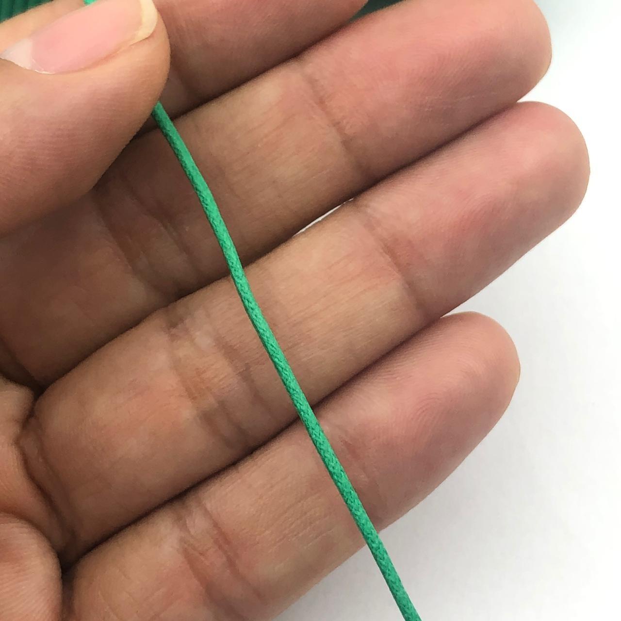 FE79 - Fio Encerado Verde Bandeira - 5metros