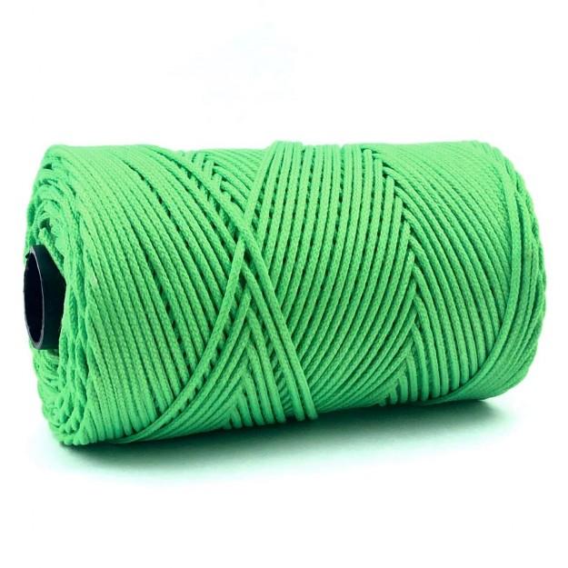 FE94 - Fio Encerado Verde Neon - 5metros