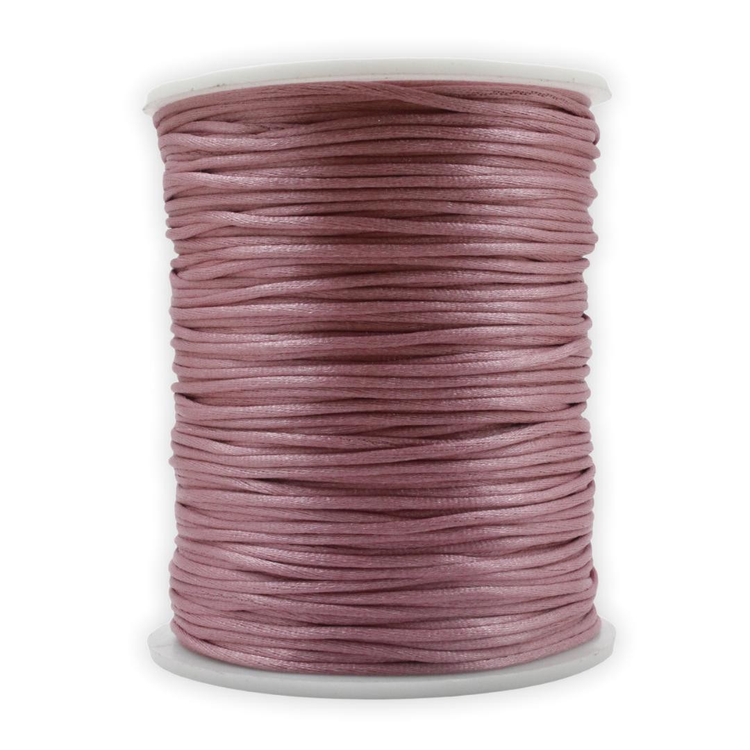 FS20 - Fio de Seda 1mm Rosa Velho - 5metros
