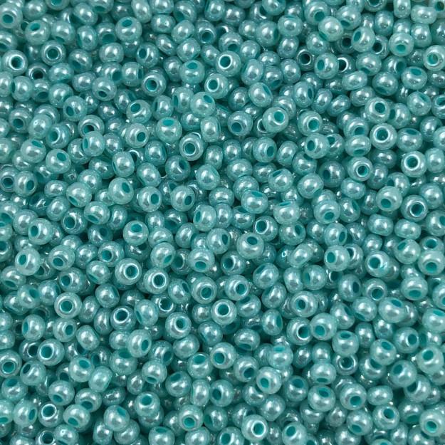 MIC178 - Miçanga Jablonex nº9 Verde Água 2,6mm - 20Grs