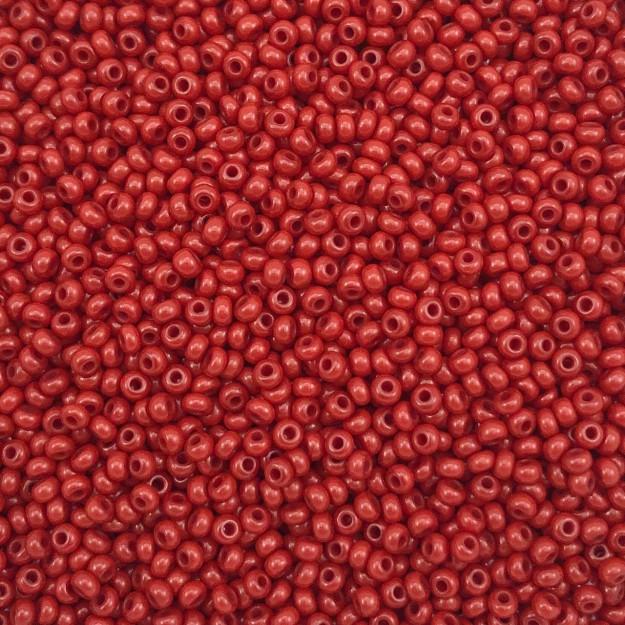 MIC18 - Miçanga Jablonex nº9 Vermelho Bordô 2,6mm - 10Grs