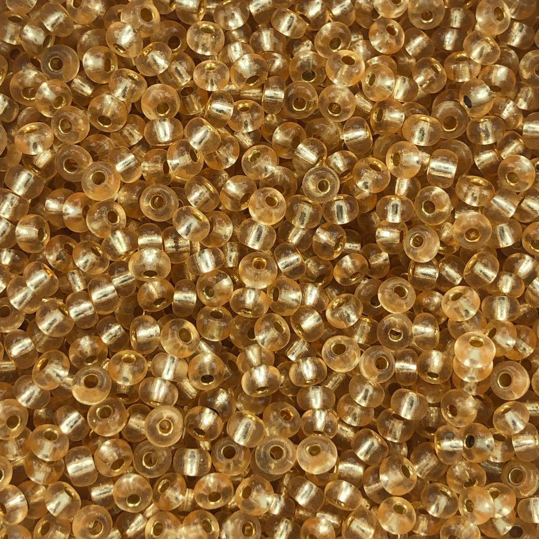 MIC262 - Miçanga Jablonex nº6 Laranja Salma 4,1mm - 20Grs