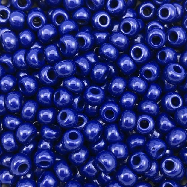 MIC60 - Miçanga Jablonex nº2 Azul Bic 6,1mm - 10Grs
