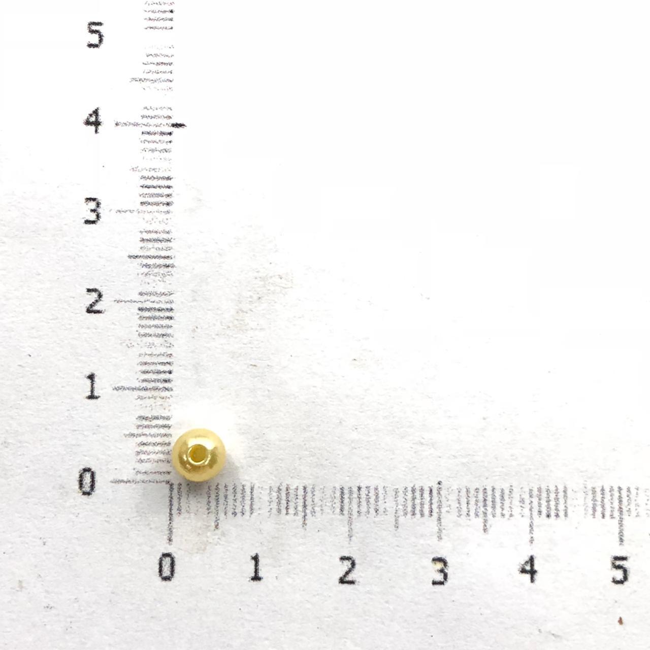 PE122 - Pérola de Resina 5m Perolada - 10Grs