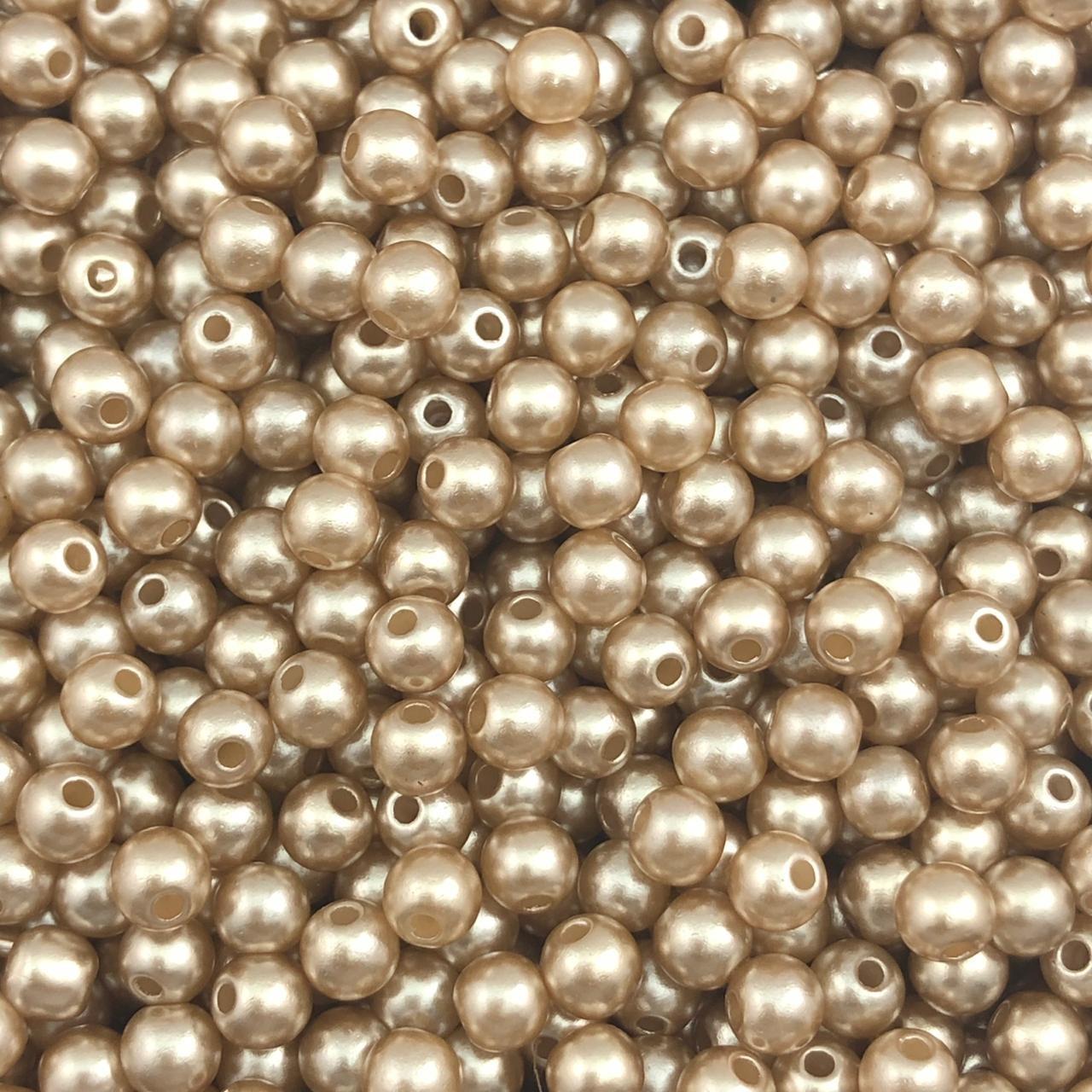 PE149 - Pérola de Resina 5m Nude - 10Grs