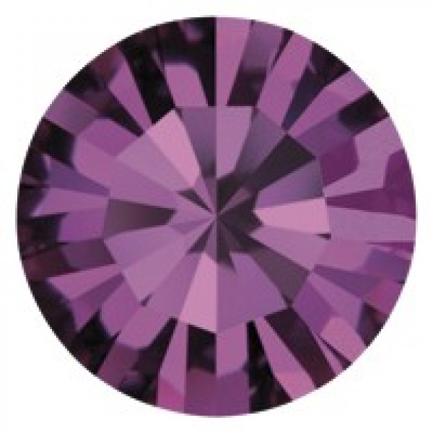 PP12 - Strass Perfecta Amethyst  - 50Unids
