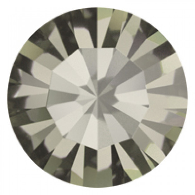 PP12 - Strass Perfecta Black Diamond  - 50Unids