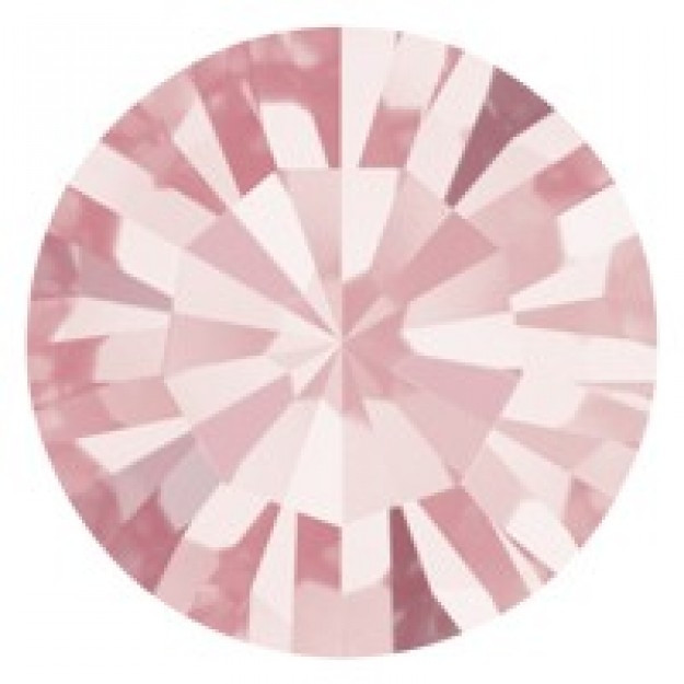 PP12 - Strass Perfecta Ligth Rose  - 50Unids