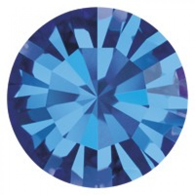 PP14 - Strass Perfecta Capri Blue - 50Unids