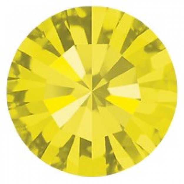 PP14 - Strass Perfecta Citrine - 50Unids