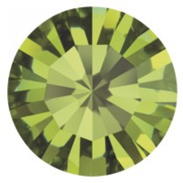 PP14 - Strass Perfecta Olivine - 50Unids