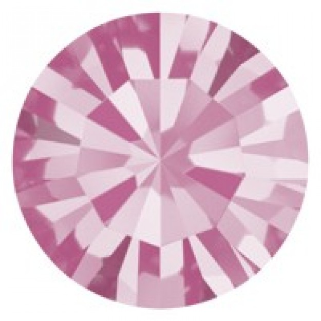 PP14 - Strass Perfecta Rose - 50Unids