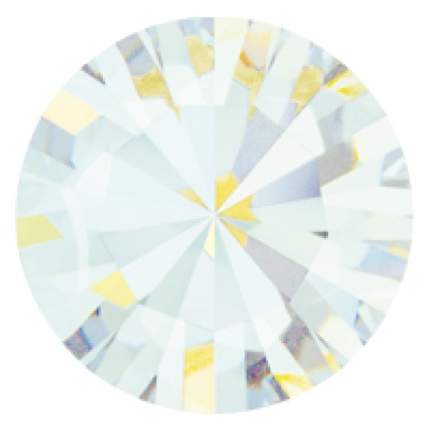 PP21 - Strass Perfecta White Opal - 50Unids