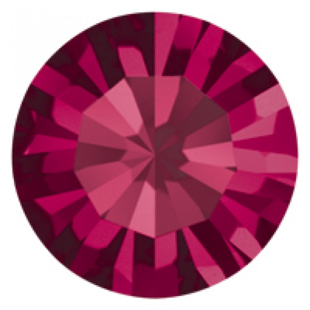 PP24 - Strass Perfecta Ruby - 50Unids