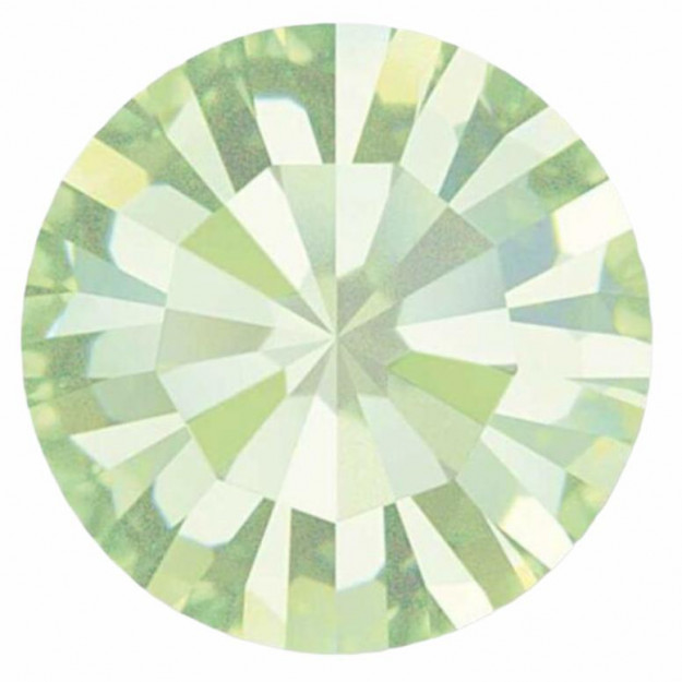PP28 - Strass Perfecta Chrysolite - 50Unids