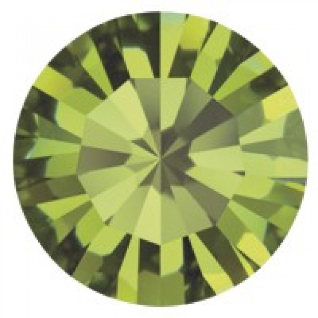 PP28 - Strass Perfecta Olivine - 50Unids