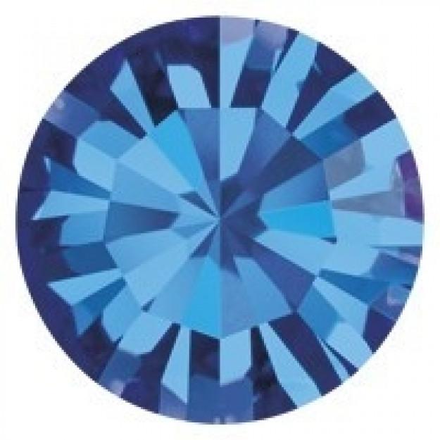SS16 - Strass Perfecta Capri Blue - 50Unids