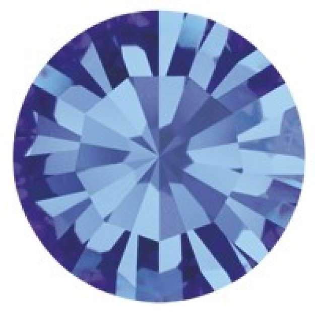 SS24 - Strass Perfecta Sapphire - 12Unids