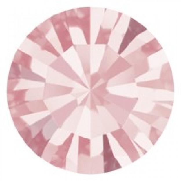 SS34 - Strass Perfecta Light Rose - 12Unids