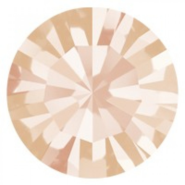 SS34 - Strass Perfecta Light Peach - 12Unids