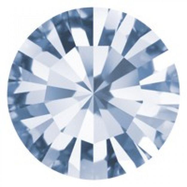 SS34 - Strass Perfecta Light Sapphire - 12Unids