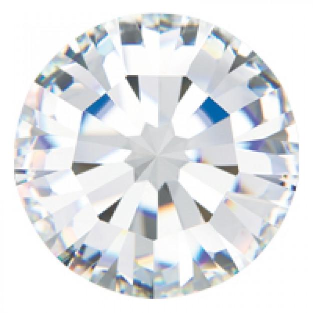 SS39 - Strass Perfecta Cristal - 12Unids