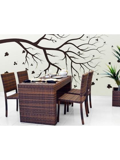 Conjunto de Mesa e Cadeiras França