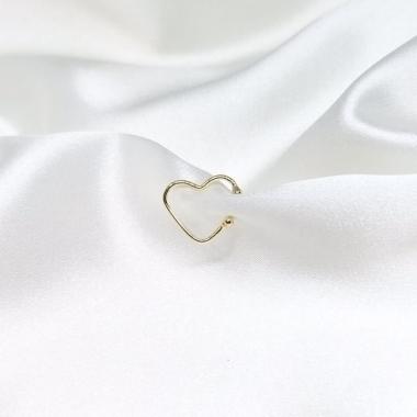 Piercing Fake Coração