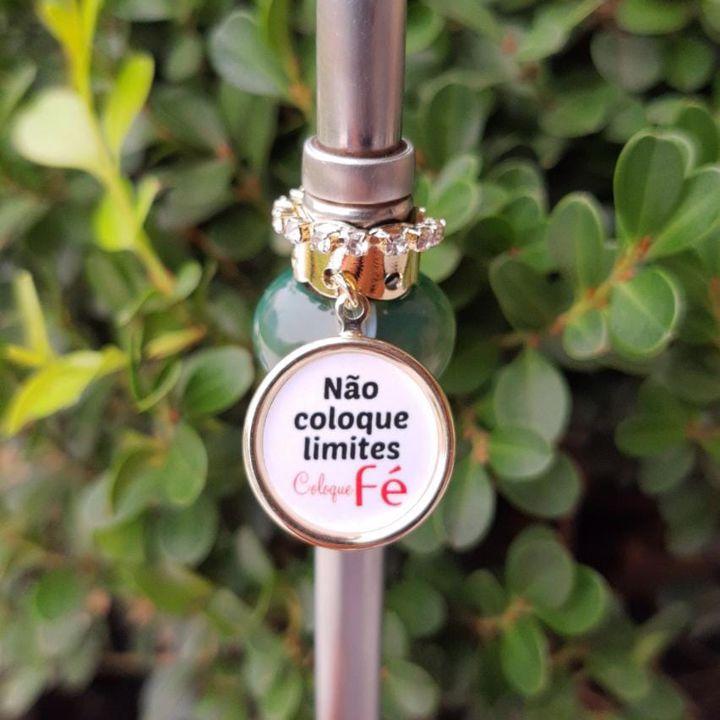 Pingente para Bomba de Chimarrão Não Coloque Limites