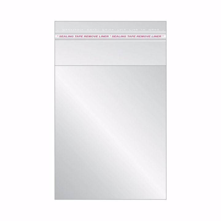 Saco Plástico Adesivo 5x8+2(100un)
