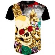 Camisa Estampada Caveira 22