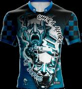 Camisa Estampada Chora Agora Ri Depois - Azul