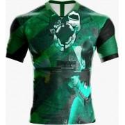 Camisa Estampada Free Fire Verde